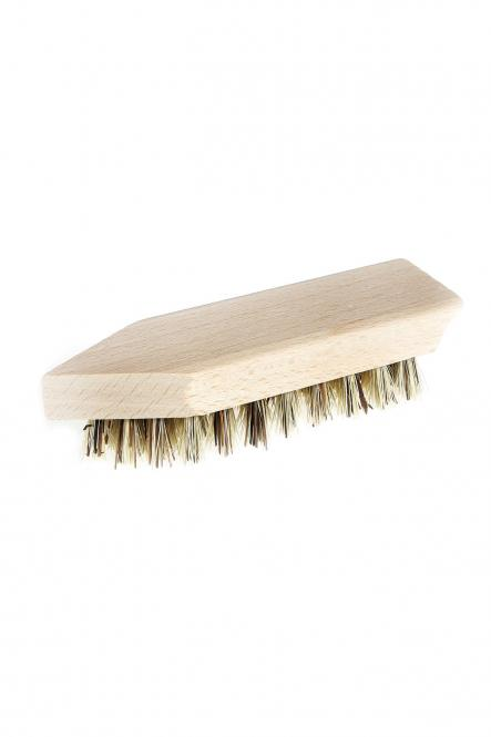 Schuhschmutzbürste klein, sehr kräftig (13,5cm)